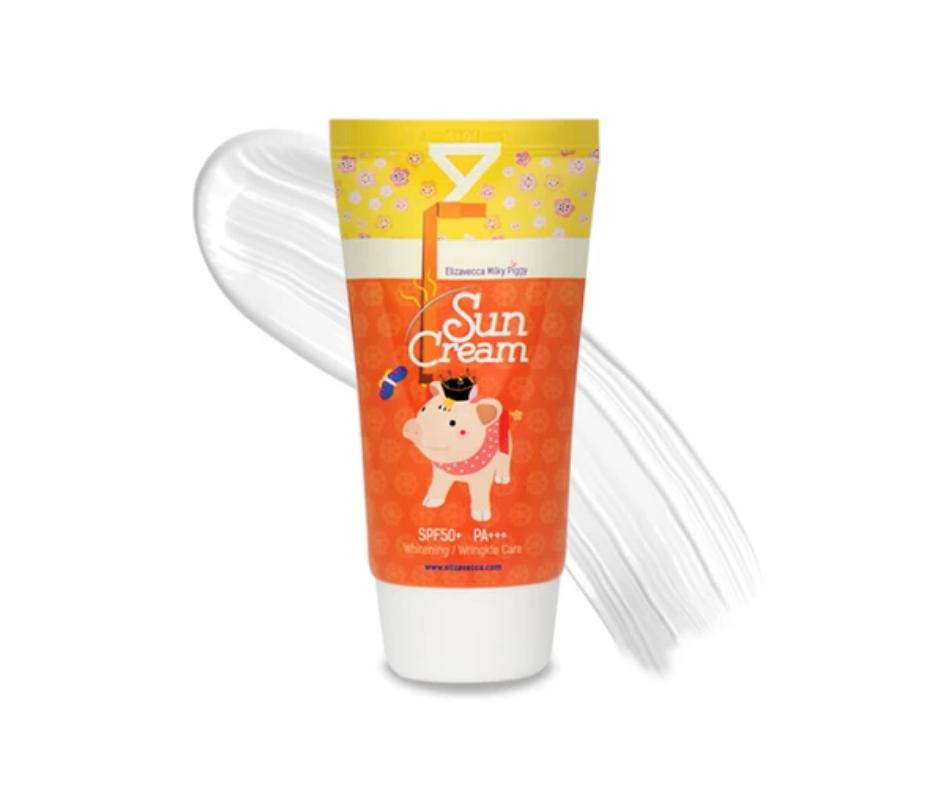 ELIZAVECCA Milky Piggy Sun Cream SPF50+ PA+++