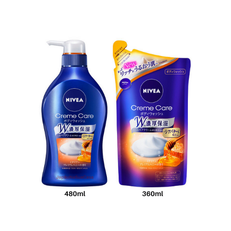 NIVEA Creme Care Body Wash