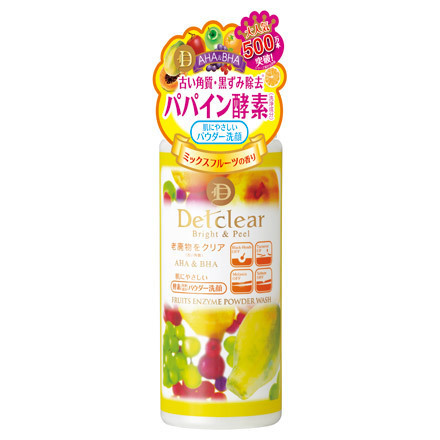 DETClear Bright & Peel Fruit Enzyme Powder Wash