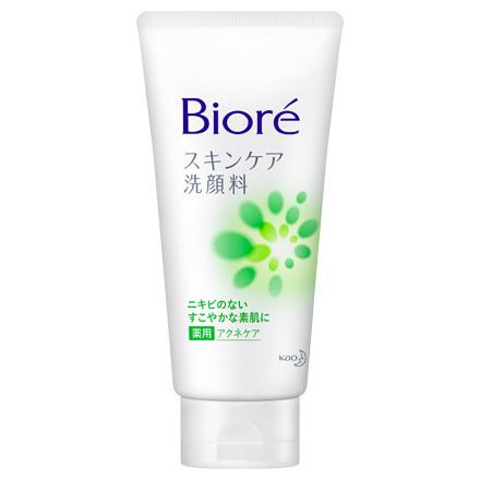 Bioré Skin Care Facial Foam  Medicated Acne Care