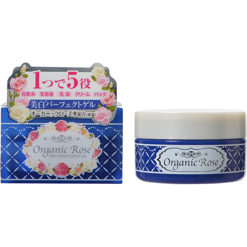 Meishoku Organic Rose Skin Conditioner Gel Whitening