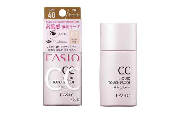 Kosé FASIO CC Liquid Touch Proof SPF40 PA+++