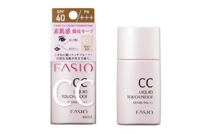 Kosé FASIO CC Liquid Touch Proof SPF40 PA+++
