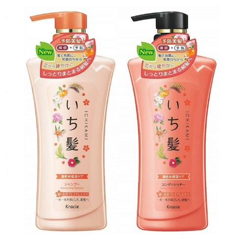 Kracie - Ichikami Shampoo & Conditioner Set Moisturizing