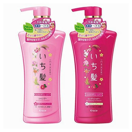 Kracie - Ichikami Shampoo & Conditioner Set Revitalizing