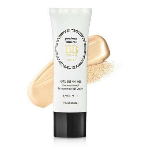ETUDE HOUSE Precious Mineral Beautifying Block BB Cream Matte SPF50+PA+++ (Cor Sand)