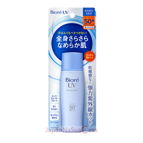 Bioré UV Perfect Milk SPF50+ PA++++ (Azul) - Nova Versão