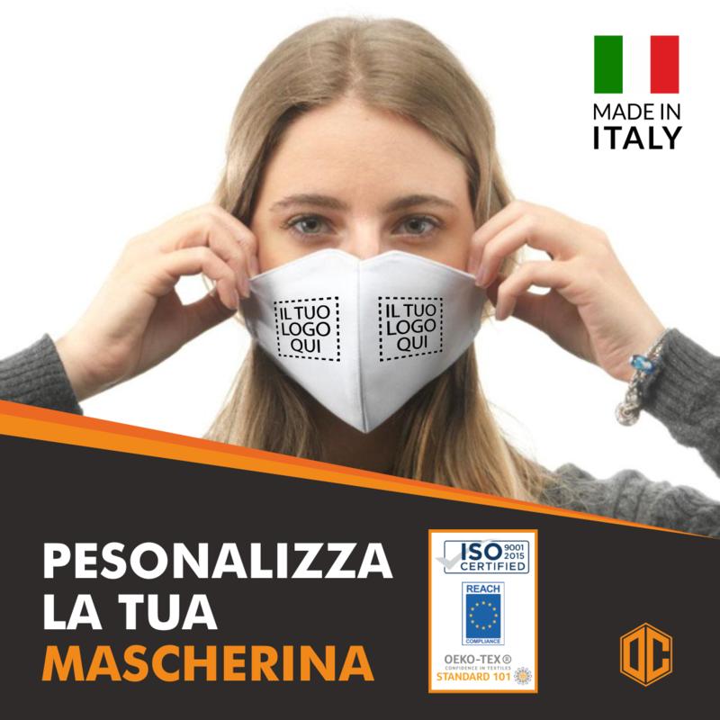 Mascherina Lavabile Personalizzata OC001
