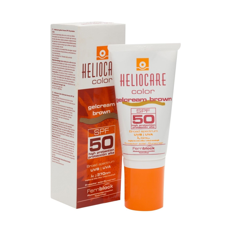 HELIOCARE GELCRAM COLOR SPF50 (2 tonos). atenúa las imperfecciones del rostro aportando un tono uniforme. Su textura en gelcream se funde con la piel hidratándola.