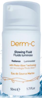Derma-C  Serun Fluido Luminoso y antioxidante. Aporta luminosidad al rostro con Vitamina C liposomada + Tecnologia Photo-Glow. 50ml