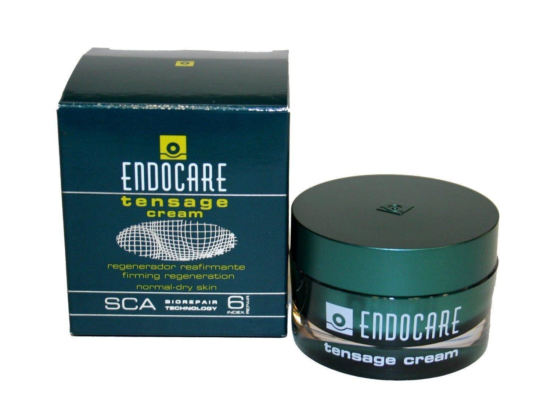 ENDOCARE Tensage Cream. De textura ultrafundente que aporta nutrición y confort a las pieles normales a secas. Potente efecto tensor y regenerador.