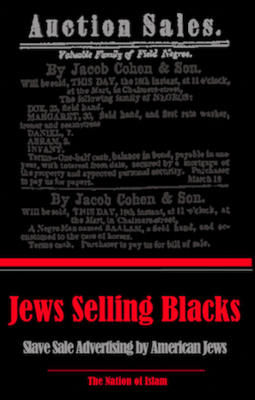 Jews Selling Blacks: Slave-Sale Advertising by American Jews