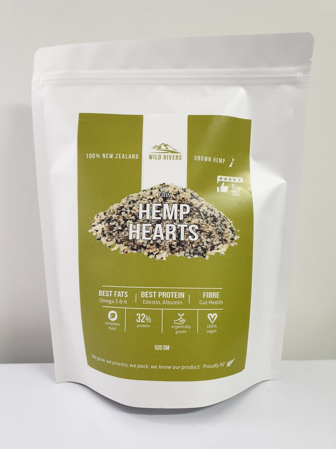 Evolution Foods Hemp Hearts 500g