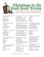 image regarding Printable Bible Trivia Games known as Printable Bible Online games, Trivia, Church Sunday University Online games