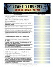 Scary Movies