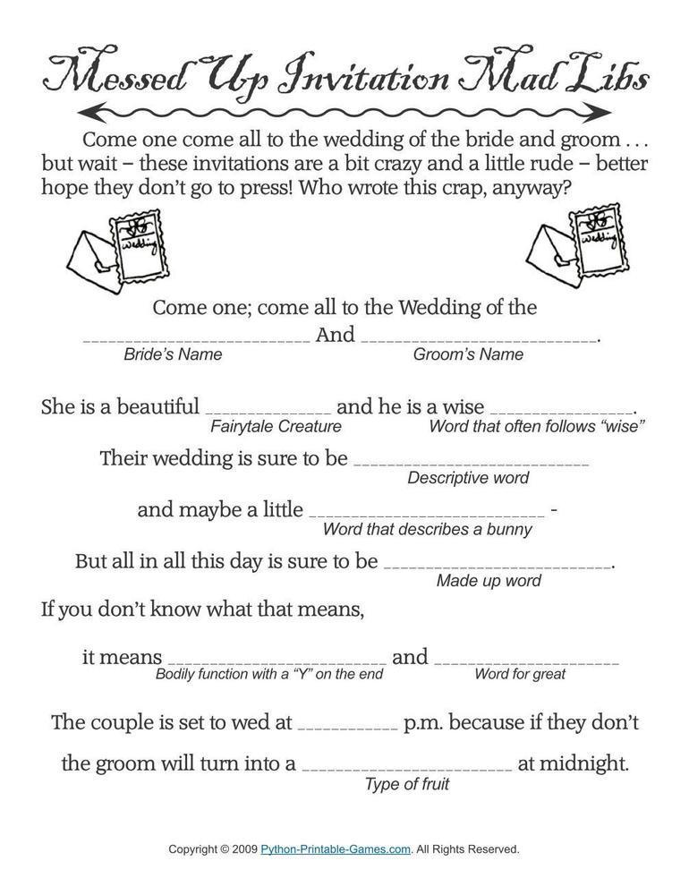 Wedding: