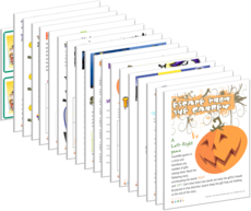 Print games now Halloween party fun for all ages