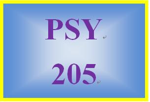 PSY 205 Week 2 Week Two Scenario Summary