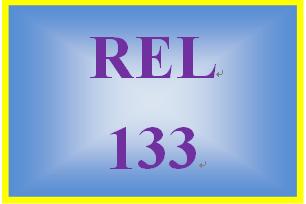 REL 133 Week 1 Common Practices in Religion