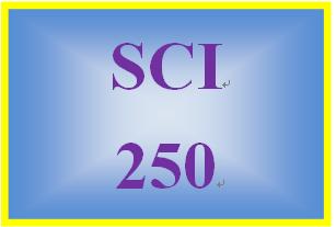 SCI 250 Week 2 Parasitology Matrix