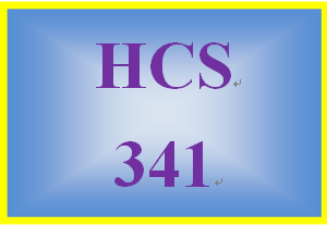 HCS 341 Week 2 You Manage it Case Study