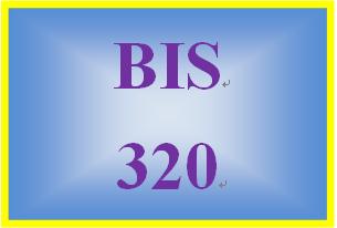 BIS 320 Week 3 Using IT Collaboration Technologies