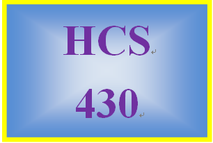 HCS 430 Week 5 Signature Assignment: Accountability and Liability for Individuals and Organizations