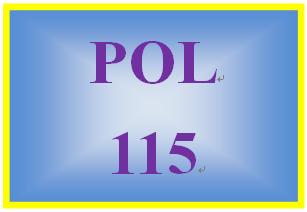 POL 115 Week 4 Civil Rights & Civil Liberties Worksheet