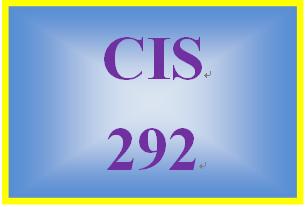 CIS 292 Week 4 Individual: Operating System Portfolio – Network Worksheet