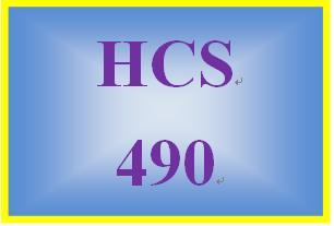 HCS 490 Week 5 Marketing Simulations