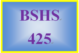 BSHS 425 Week 5 Dream Human Service Program Team Presentation Part III