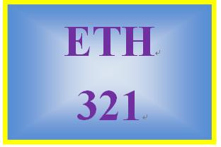 ETH 321 Week 5 Employment Law Case Brief and Presentation