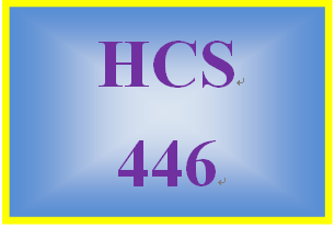 HCS 446 Week 1 ToolWire® MedSpace® Exploration