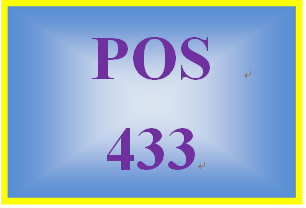 POS 433 Week 2 Learning Team: UNIX®, Linux®, and Windows Server® Critique and Presentation Preparation Part I