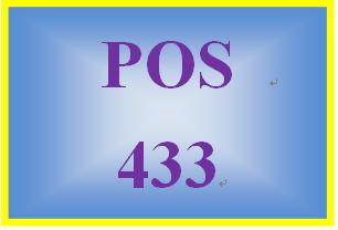 POS 433 Week 2 Linux® Directory Log