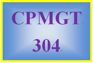 CPMGT 304 Week 1 Communication Self-Assessment