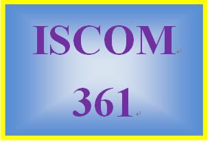 ISCOM 361 Week 2 Internal and External Supply Chain Integration Presentation