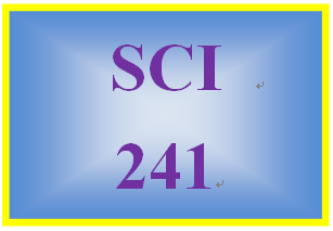 """SCI 241 Week 1 Toolwire GameScape Episode 1: """"Nutrition – A Key to Health"""""""
