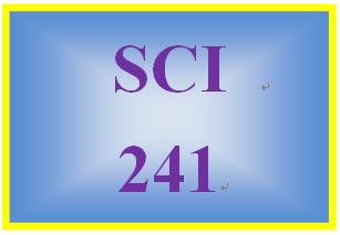 SCI 241 Week 8 Nutritional Needs Ad