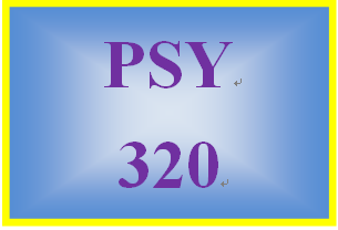PSY 320 Week 5 Annotated Bibliography and Analysis