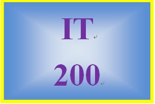 IT 200 Week 1 Individual: Benefits of Cloud Based Office Productivity Software
