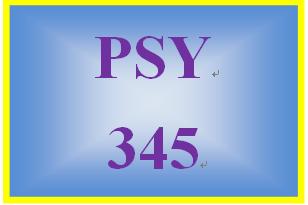 PSY 345 Week 3 Visual System Worksheet