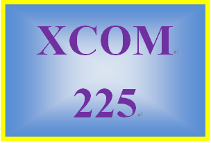 XCOM 225 Week 9 Mass Media Messages and Effects Paper