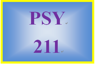 PSY 211 Week 4 Personality Paper