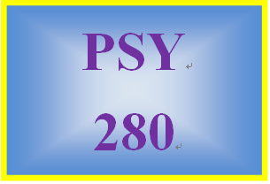 PSY 280 Week 1 Prenatal and Postpartum Scenario
