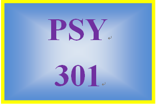 PSY 301 Week 1 Emotional Intelligence Paper