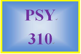 PSY 310 Week 5 Psychoanalytic Model Paper