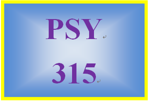 PSY 315 Week 3 Research Article Critique