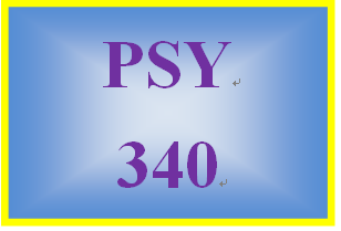 PSY 340 Week 4 Regulatory Behavior Paper