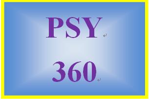 PSY 360 Week 1 Phineas Gage Paper